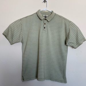 Tommy Bahama Polo size L silk shirt